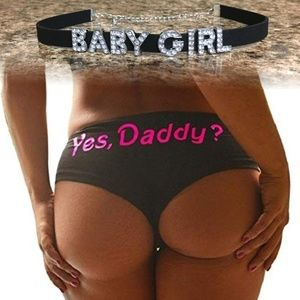 Other - Baby Girl Choker & Yes Daddy Panties